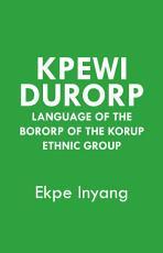Kpewi Durorp PDF