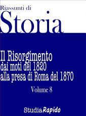 Riassunti di Storia - Volume 8