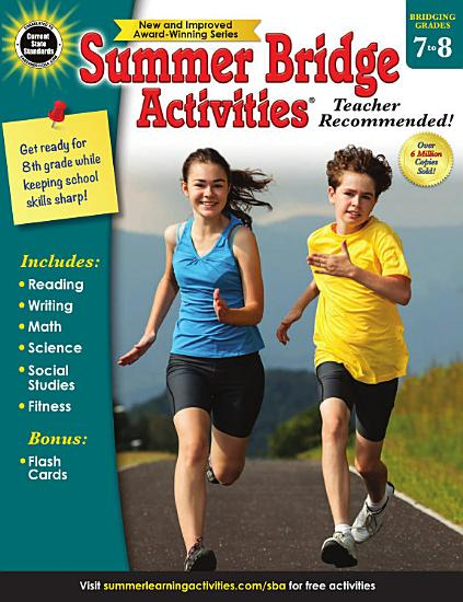 Summer Bridge Activities    Grades 7   8 PDF
