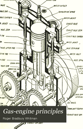 Gas-engine principles: with explanations of the operation, parts, installation, handling, care, and maintenance of the small stationary and marine engine, and chapters on the effect, location, remedy, and prevention of engine troubles