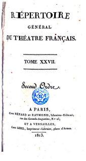 Répertoire général du théatre français, 27