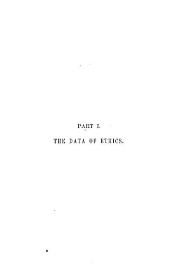 The Principles of Ethics  The data of ethics PDF