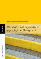 Wirtschafts  und Organisationspsychologie im Management PDF