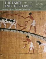 The Earth and Its Peoples  A Global History  Volume A PDF