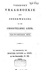 Verkort vraagboekje tot onderwijzing in de christelijke leer
