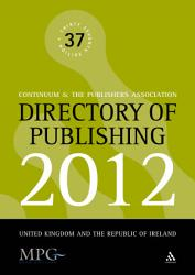 Directory Of Publishing 2012 Book PDF