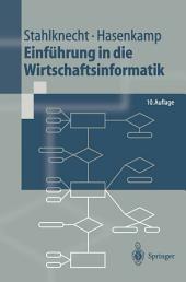 Einführung in die Wirtschaftsinformatik: Ausgabe 10