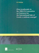 Non Conformity In The 1980 Un Convention On Contracts For The International Sale Of Goods