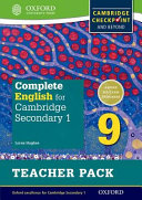 Complete English for Cambridge Secondary 1 Teacher Pack 9 PDF