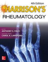 Harrison's Rheumatology, 4E: Edition 4