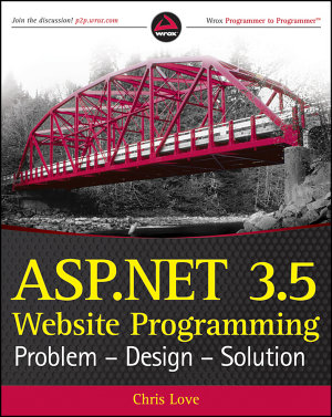 ASP NET 3 5 Website Programming