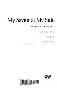 My Savior at My Side PDF