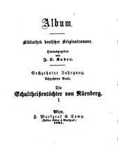 Die Schultheissentöchter von Nürnberg: Culturhistorischer Roman, Bände 1-3