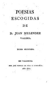 Poesias escogidas: Volumen 2