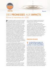 Rapport sur la nutrition mondiale 2016: Des promesses aux impacts: Éliminer la malnutrition d'ici 2030: Résumé