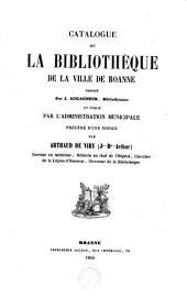 Catalogue de la bibliothèque de la ville de Roanne