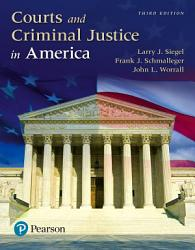 Courts And Criminal Justice In America Book PDF