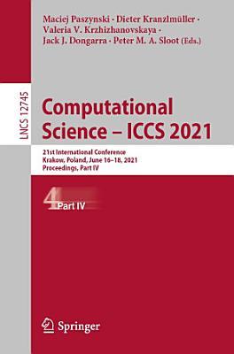 Computational Science     ICCS 2021