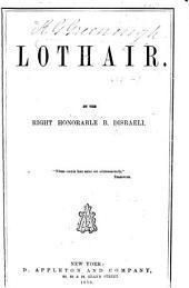 Lothair: Volume 1