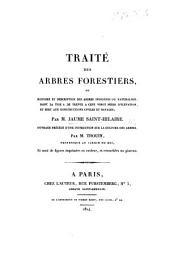 Traité des arbres forestiers ... ouvrage précédé d'une instruction sur la culture des arbres par M. Thouin. L.P.