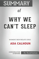 Download Summary of Why We Can t Sleep Book