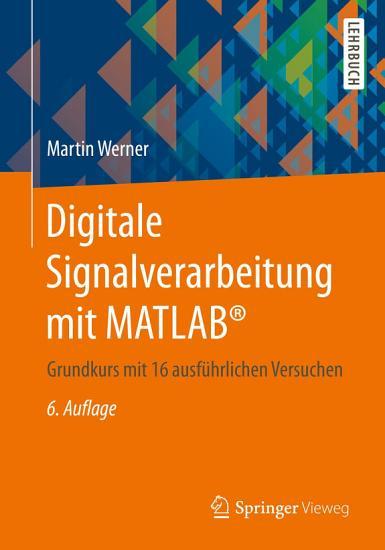 Digitale Signalverarbeitung mit MATLAB   PDF