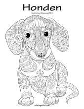Honden Kleurboek voor Volwassenen 1 & 2