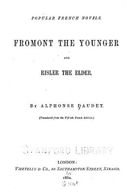 Fromont the Younger and Risler the Elder PDF