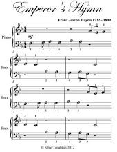 Emperor's Hymn Beginner Piano Sheet Music