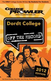 Dordt College 2012