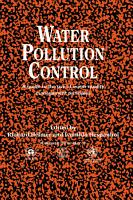 Water Pollution Control PDF