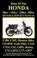 Honda Motorcycle Manual  All Models  Singles and Twins 1960 1966  50cc  125cc  250cc   305cc  PDF