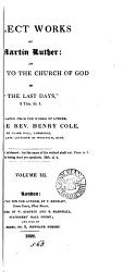 Select Works Tr By H Cole Book PDF