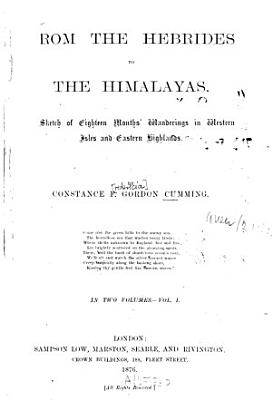 From the Hebrides to the Himalayas0 PDF