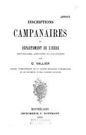 Inscriptions campanaires du département de l'Isère