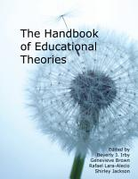 Handbook of Educational Theories PDF