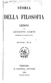 Storia della filosofia: Volume 2