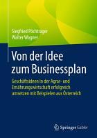 Von der Idee zum Businessplan PDF
