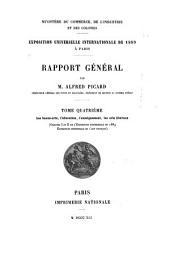 Exposition universelle internationale de 1889 à Paris: Rapport général, Volume4