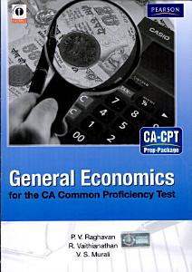 General Economics for the CA Common Proficiency Test  CPT  PDF