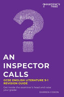 An Inspector Calls GCSE English Literature 9 1 Revision Guide PDF