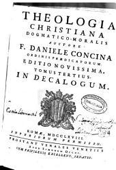Theologia christiana dogmatico-moralis