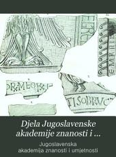 Djela Jugoslavenske akademije znanosti i umjetnosti: Book 8
