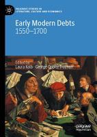 Early Modern Debts PDF