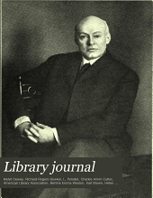 Library Journal: Volume 33