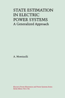 State Estimation in Electric Power Systems
