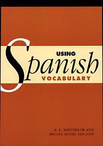 Using Spanish Vocabulary Book