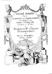Grand sonate pour le clavecin ou piano forte accompagné d'un violon & violoncelle: oeuvre XXXXIV. B 466, Volume 2
