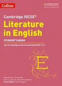 Cambridge IGCSE   English Literature PDF