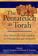The Pentateuch as Torah